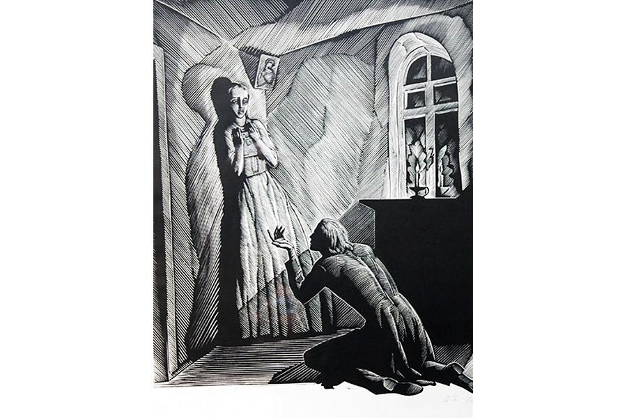 Раскольников признается Соне в убийстве