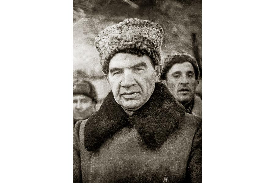 Генерал Василий Иванович Чуйков в Сталинграде