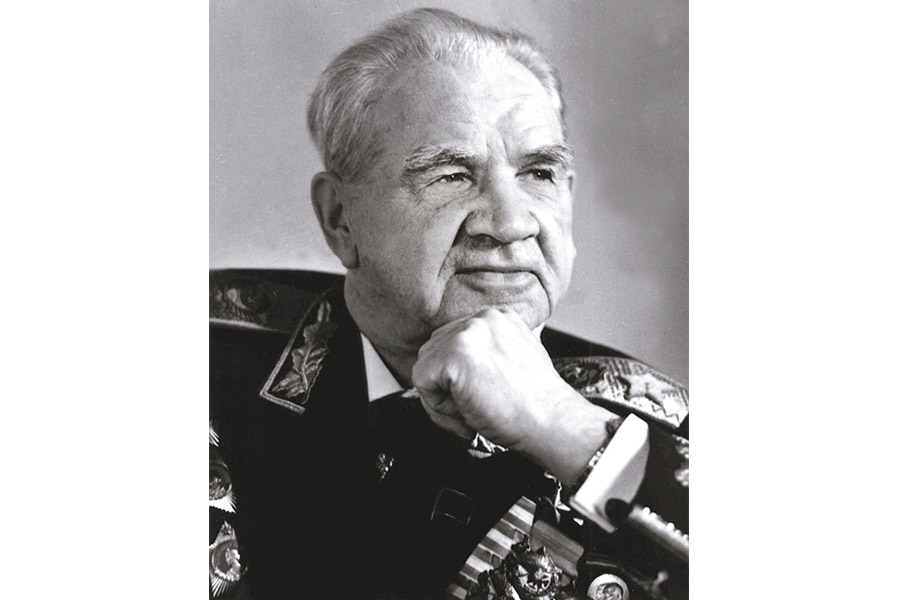Маршал Василий Иванович Чуйков. 1980 г.