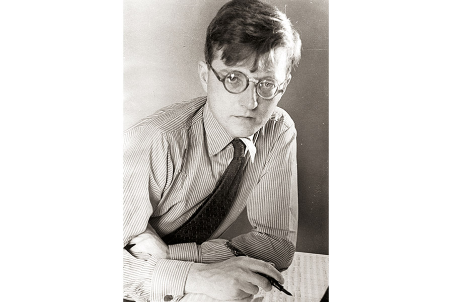 Дмитрий Шостакович в начале 1930-х гг.