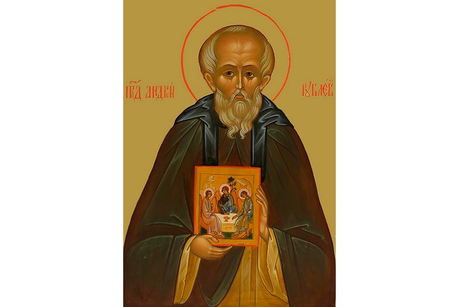 Преподобный Андрей Рублев. Икона