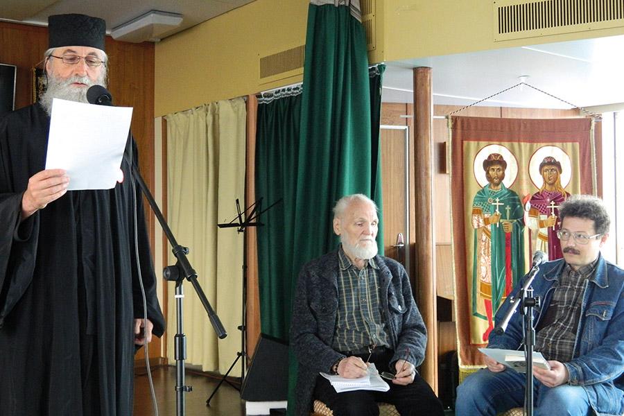 Протоиерей Иоанн Пламенац, Владимир Крупин и Илья Числов