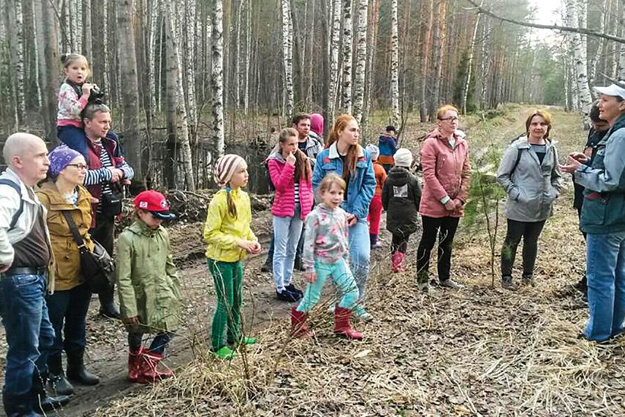 Национальный парк «Мещёра» в Гусь-Хрустальном. На экологической тропе