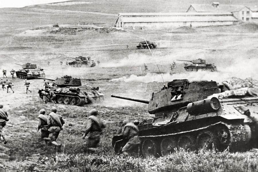 Решающая битва Великой Отечественной войны на Курской дуге произошла в 1943 г.