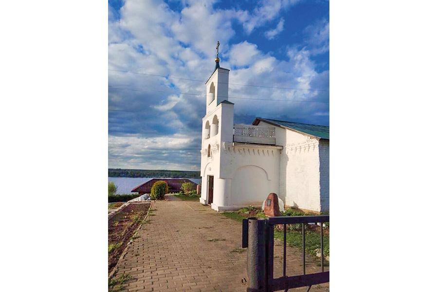 Кинешемский район. Макариев-Решемский монастырь