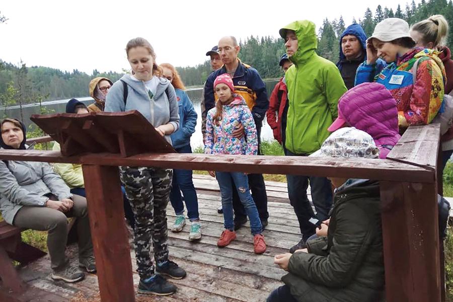 Валдай. Экотропа на озере Иванье