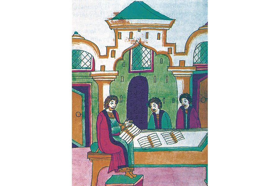 Обучение в древнерусской школе