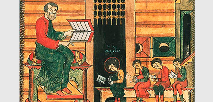 Слова литургии даны нам свыше