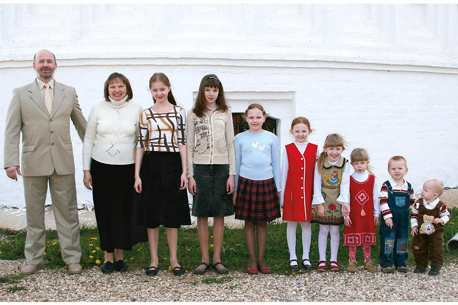 Господь благословил мою семью жить по Евангелию