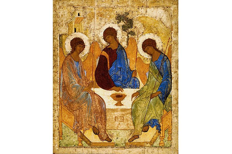 Святая Троица. Икона Андрея Рублева