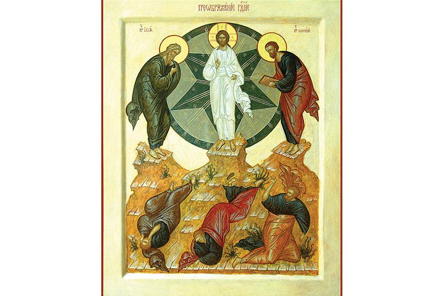 Преображение Господне. Икона