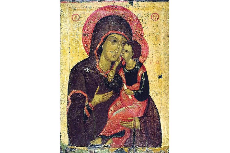 Любятовская икона Божией Матери Умиление