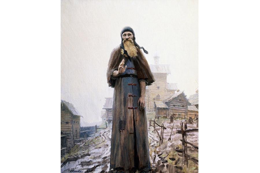 Преподобного Сергия Радонежского порой не узнавали из-за бедности его одежды