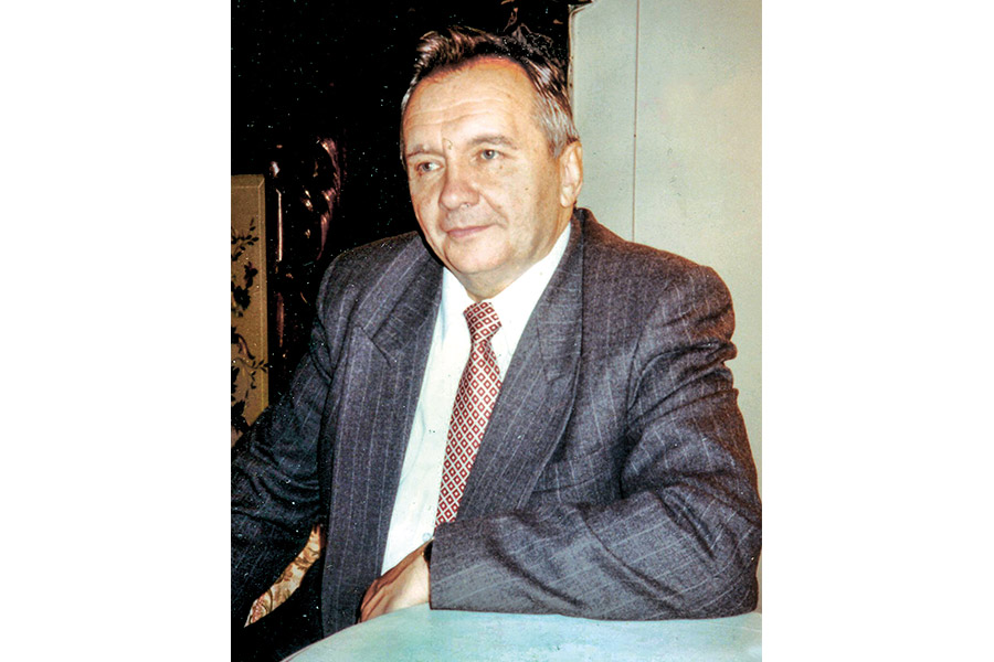 Александр Сергеевич Панарин. 1996 г.