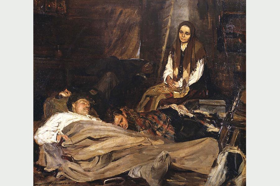 Б. Неменский. Мать
