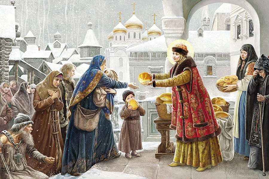 Наталья Климова. Милостыня на Руси