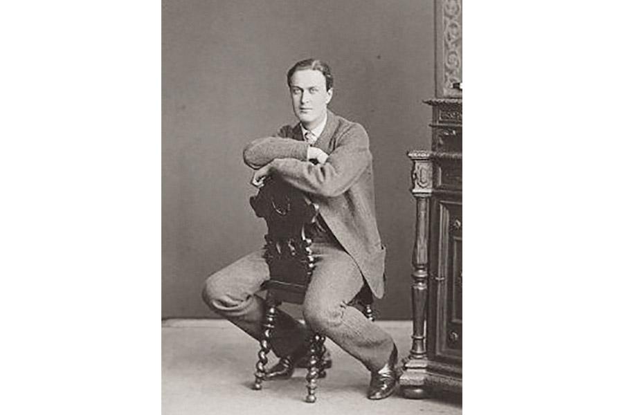 Князь Александр Григорьевич Щербатов в юности, ок. 1870 г. Архив РГАЛИ