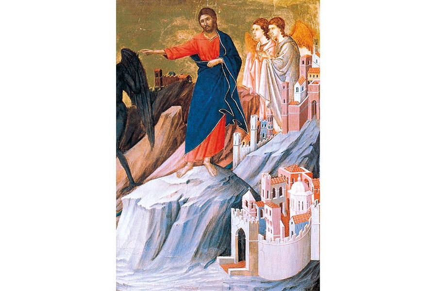 Дуччо ди Буонинсенья. Маэста, фрагмент. 1308–1311 гг.