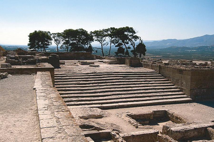 Лестница в древнем городе Ласея