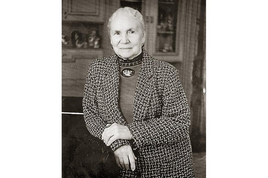 Народная артистка СССР Нина Константиновна Мешко
