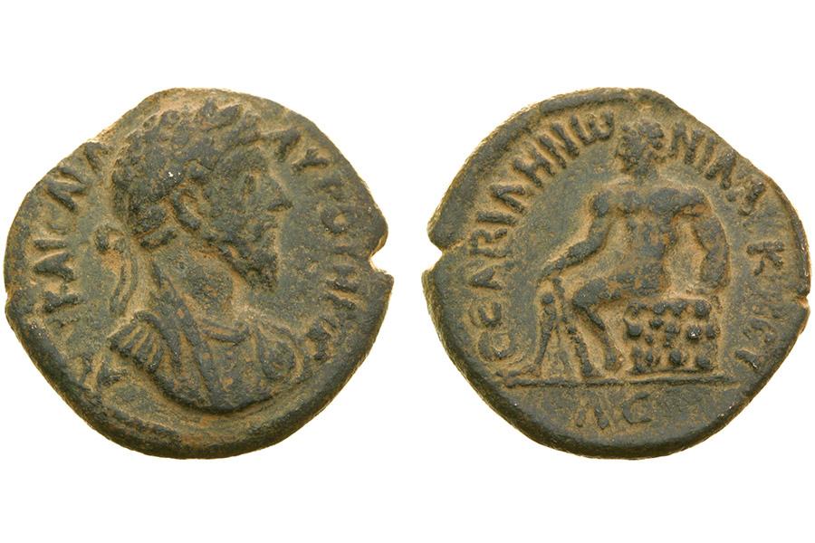 Монеты 166–167 гг. Место чеканки – Десятиградие