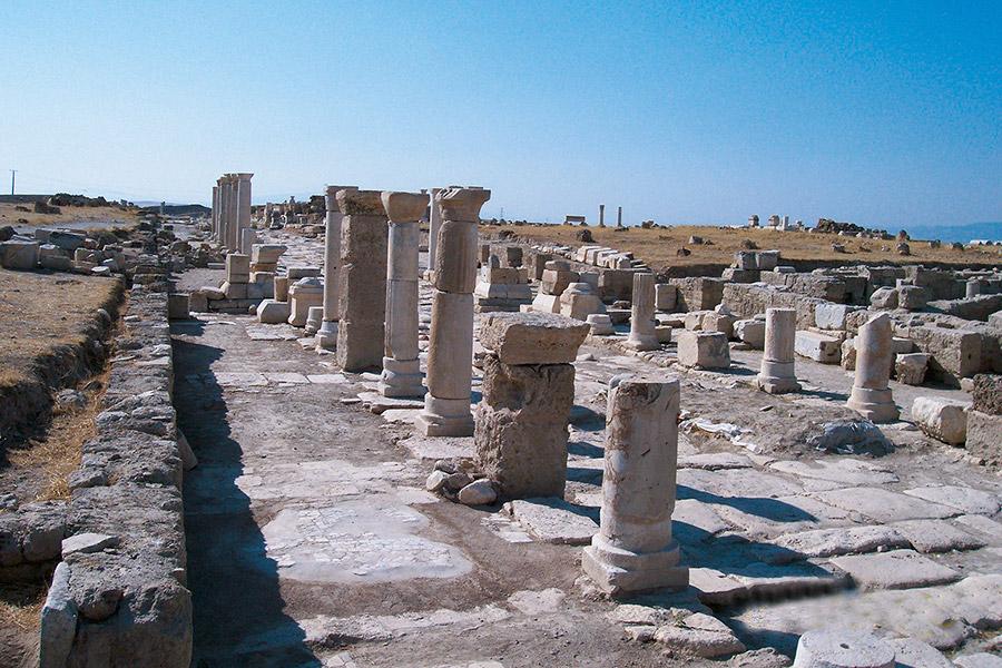 Лаодикия. Современное состояние некогда величественного города