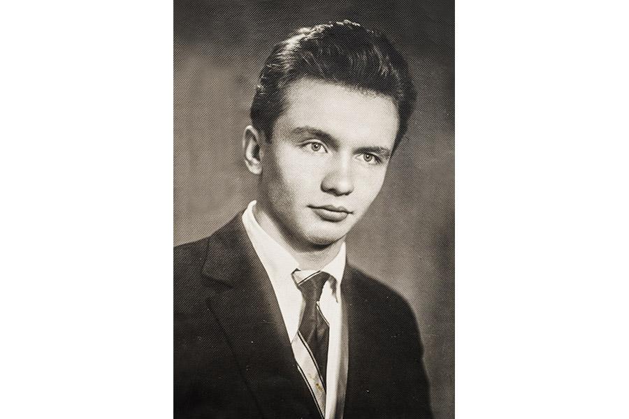 Александр Сергеевич Панарин в молодости