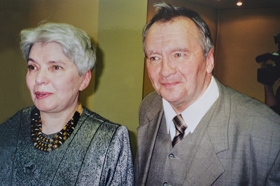 Александр Сергеевич с Натальей Дмитриевной Солженицыной
