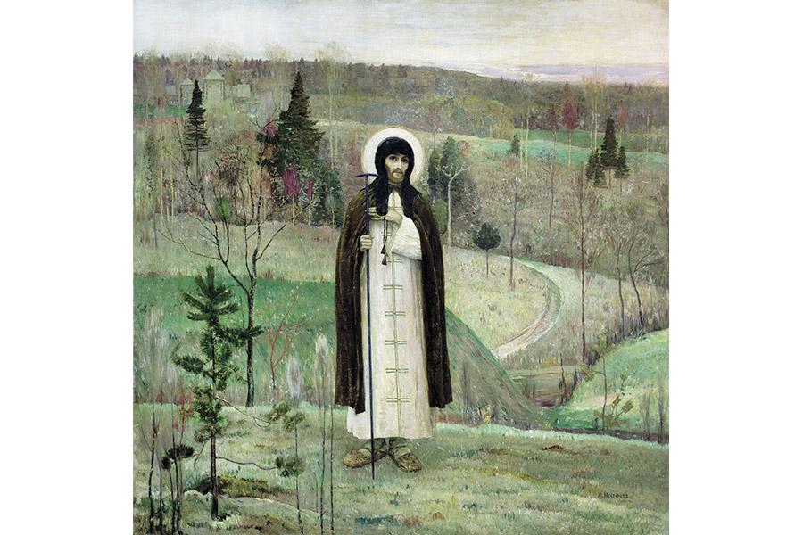 М.В. Васнецов. Преподобный Сергий Радонежский