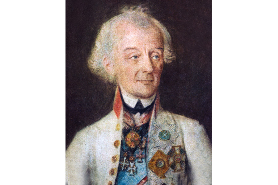 Й.Х. Шмидт. Последний прижизненный портрет Александра Суворова. 1800 г.
