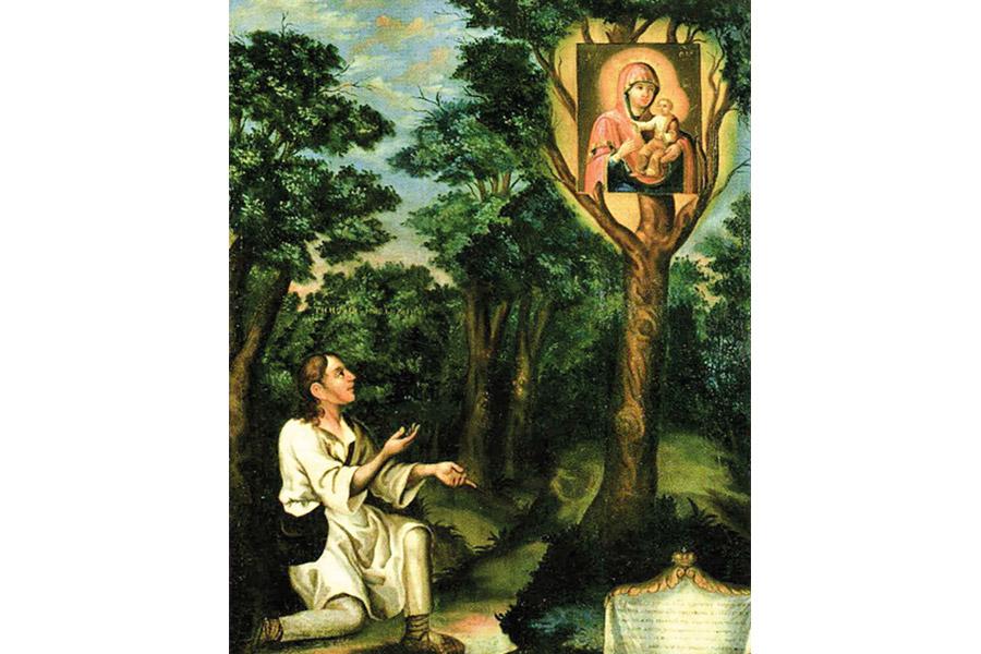 Явление иконы Пресвятой Богородицы пастуху Тимофею