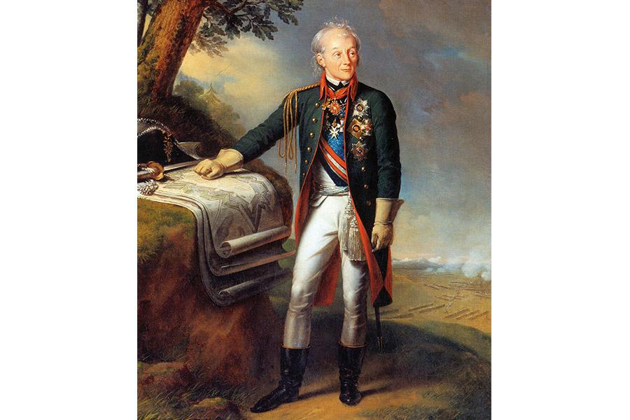 К.К. Штейбен. Генералиссимус А.В. Суворов. 1815 г.
