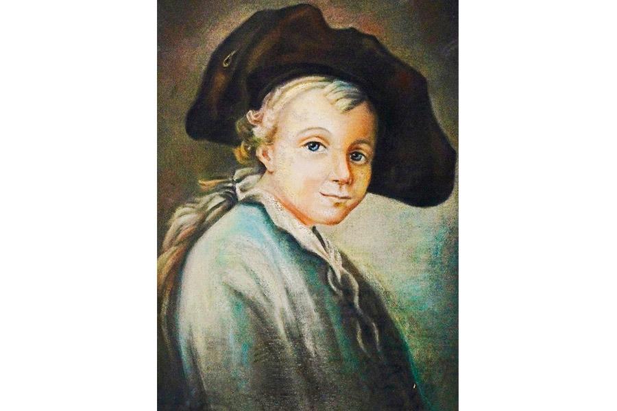 Неизвестный художник. Портрет Суворова в детстве