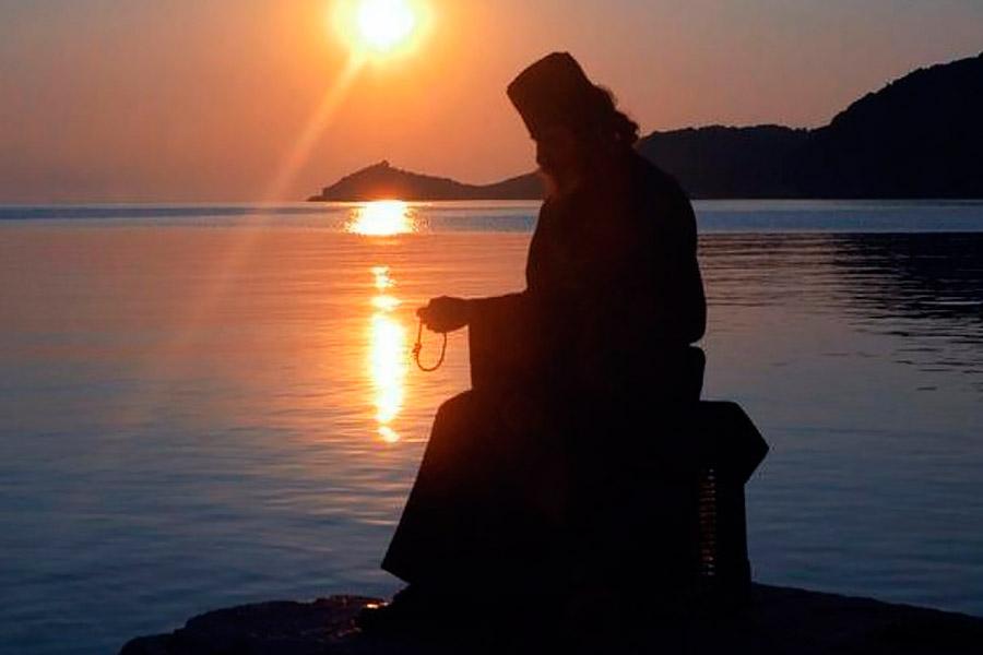 Уединение монаха