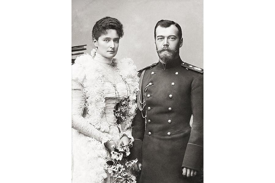 Императрица Александра Феодоровна и император Николай II. 1898 г.
