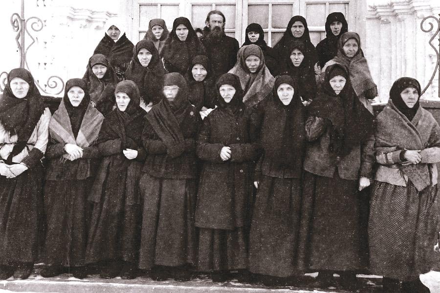 Вятский Преображенский женский монастырь до революции
