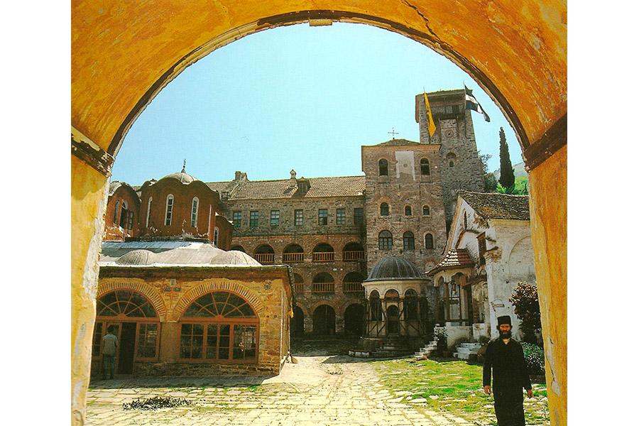 Монастырь Кутлумуш на Святом Афоне