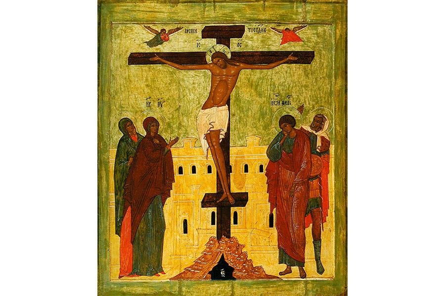 Распятие Иисуса Христа. Икона