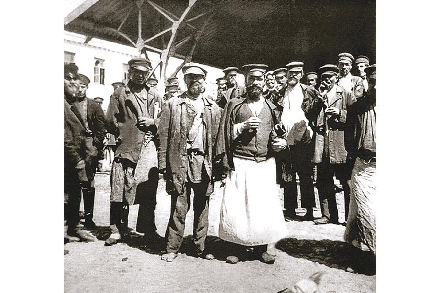 Босяки Хитровки, чрева тогдашней Москвы