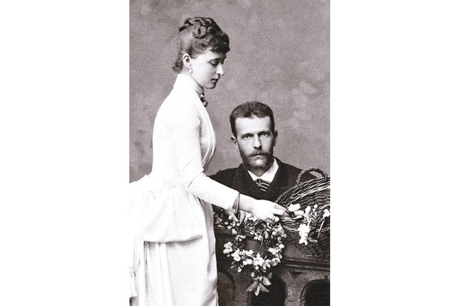 Великий князь Сергий Александрович и великая княгиня Елисавета Феодоровна