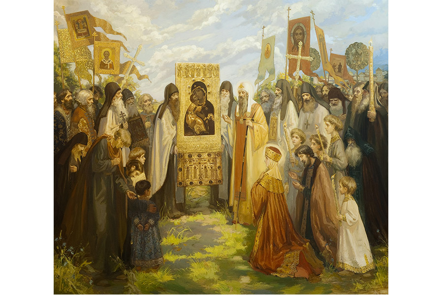 Ивлева С.Н. Сретение Владимирской иконы Божией Матери. 2009