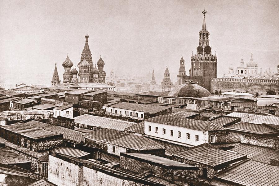 Старая Москва. Верхние торговые ряды