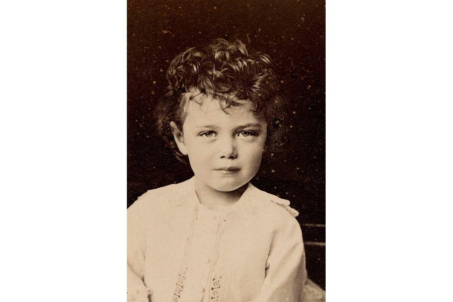 Николай II в детстве. 1873 г.