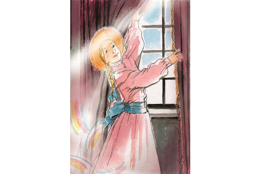 Поллианна, как солнечный луч, освещает и согревает всех и все вокруг себя