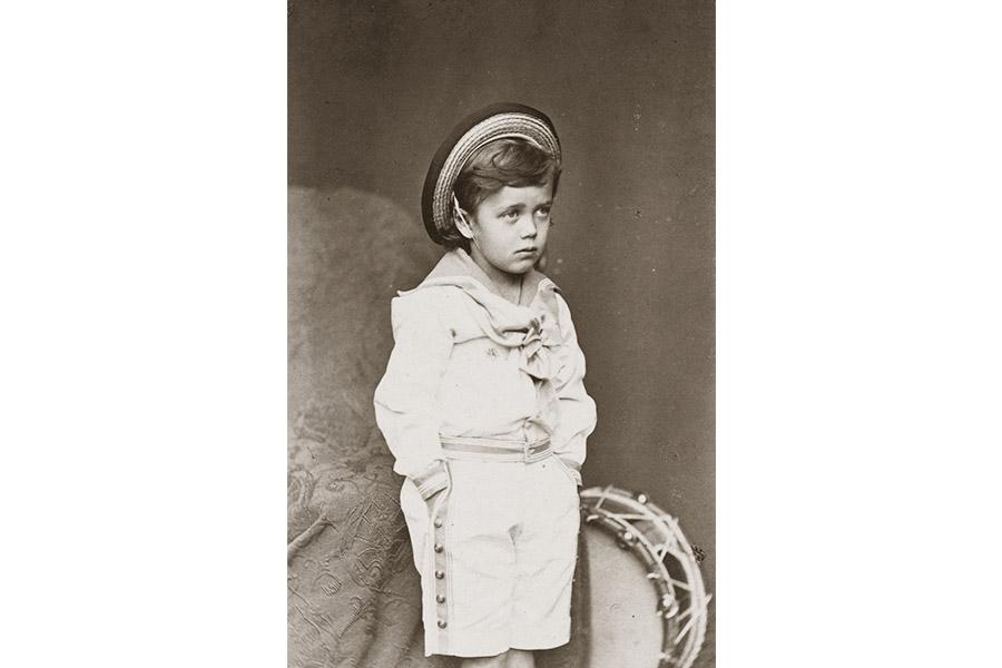 Будущий император России Николай II