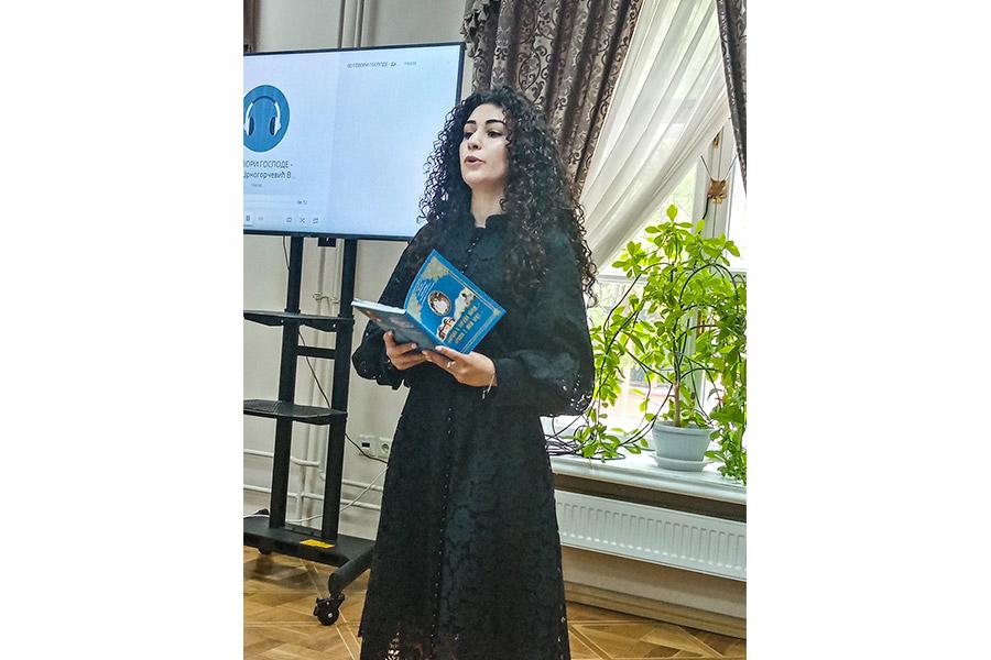 Ануш Мовсисян, студентка МГМСУ им. А.И. Евдокимова