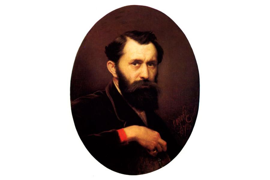 В.Г. Перов. Автопортрет