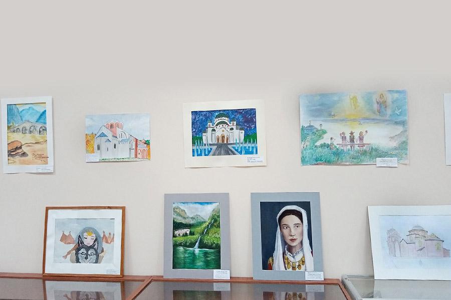 Конкурс рисунка Сербия в сердце моем