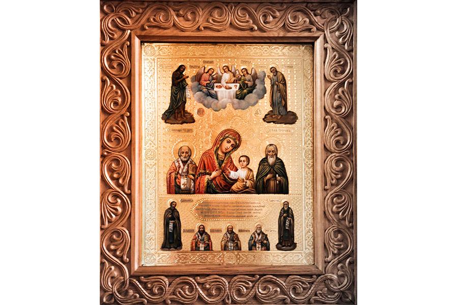 Колоческая икона Божией Матери - главная святыня монастыря