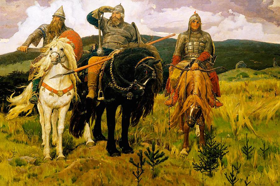 В.М. Васнецов. Три богатыря